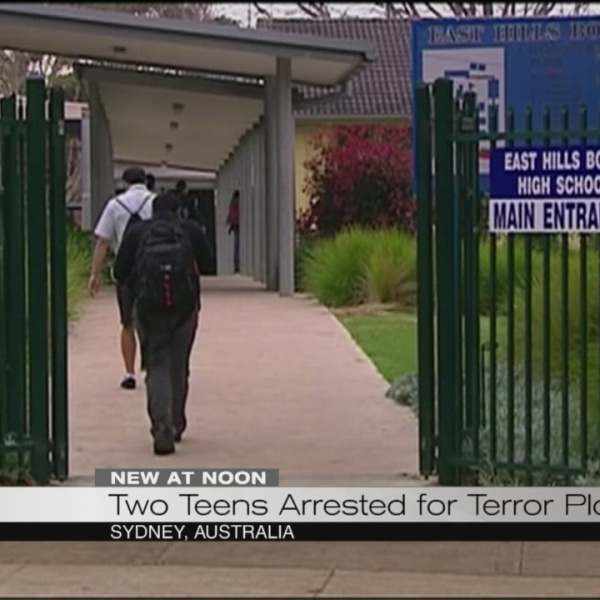 Two teens arrested for terror plot