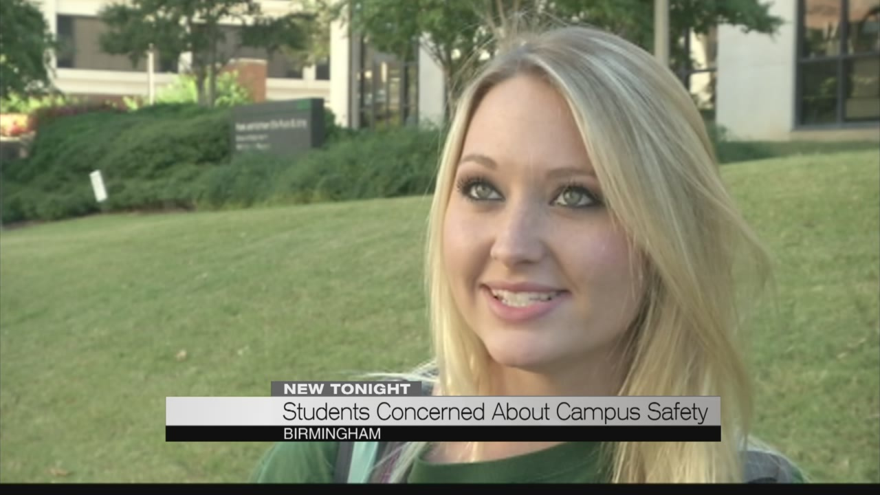 Students concerned about campus safety