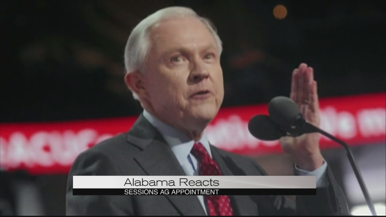 Alabama reacts to Sessions appointment