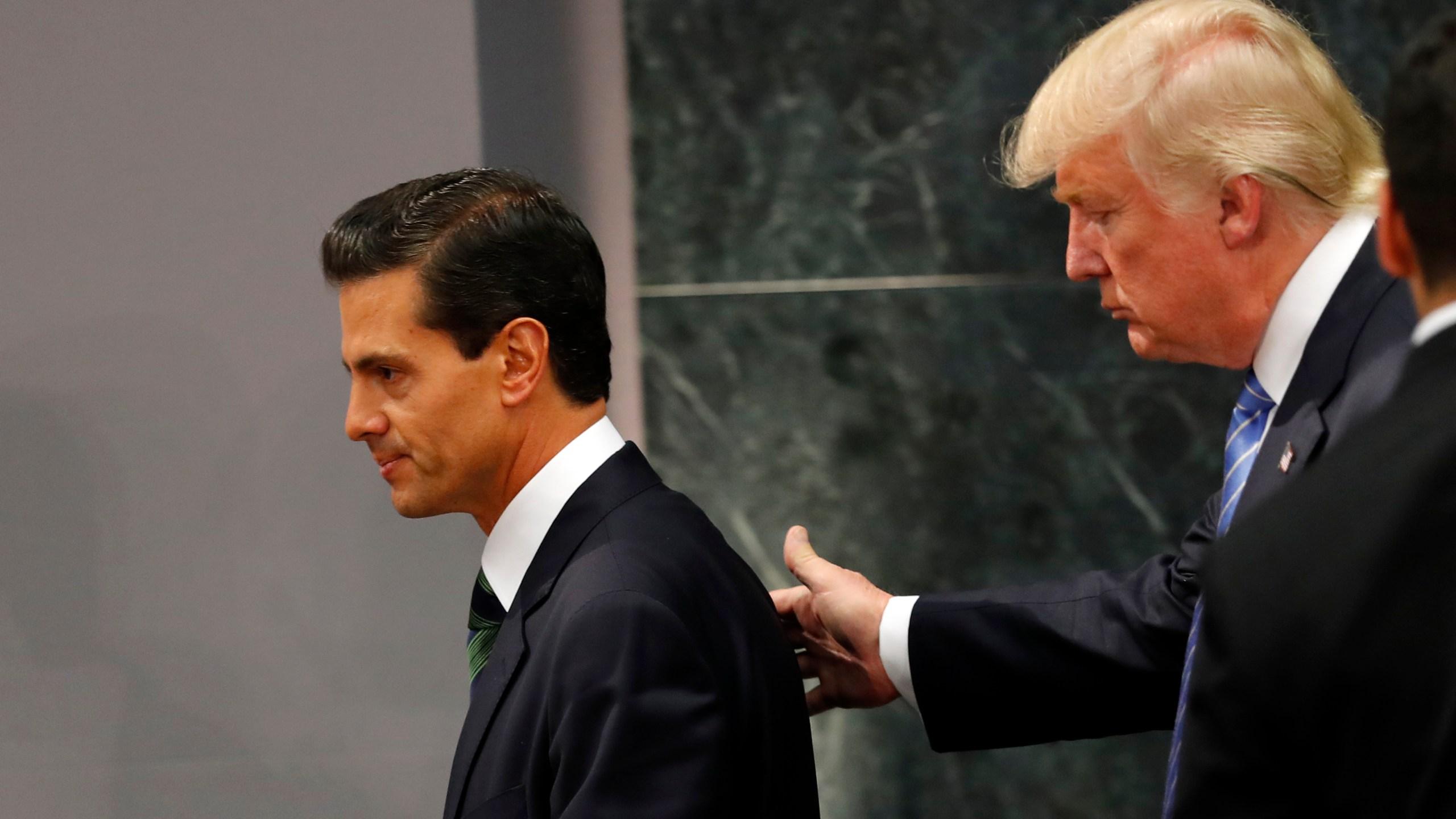 Donald Trump, Enrique Pena Nieto_204060