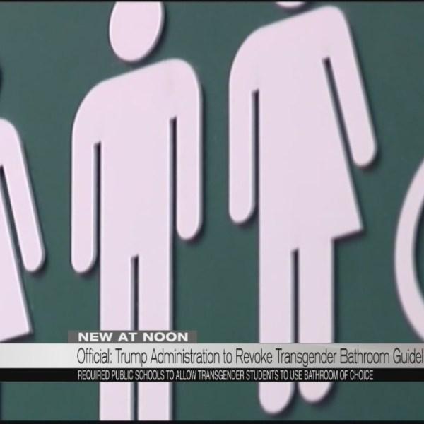 Official: Trump Administration to revoke transgender bathroom guidelines