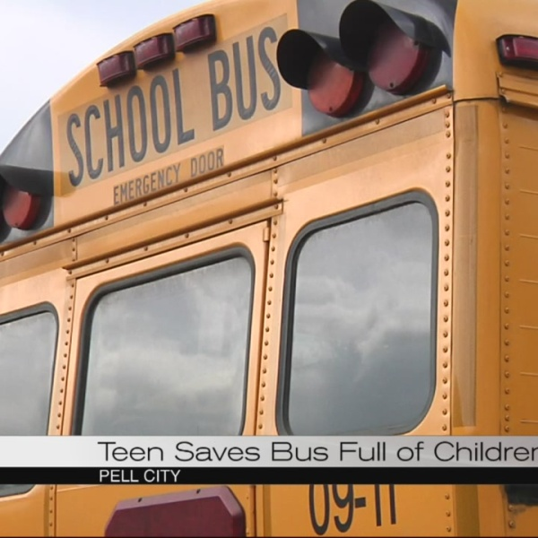 Teen saves bus full of children