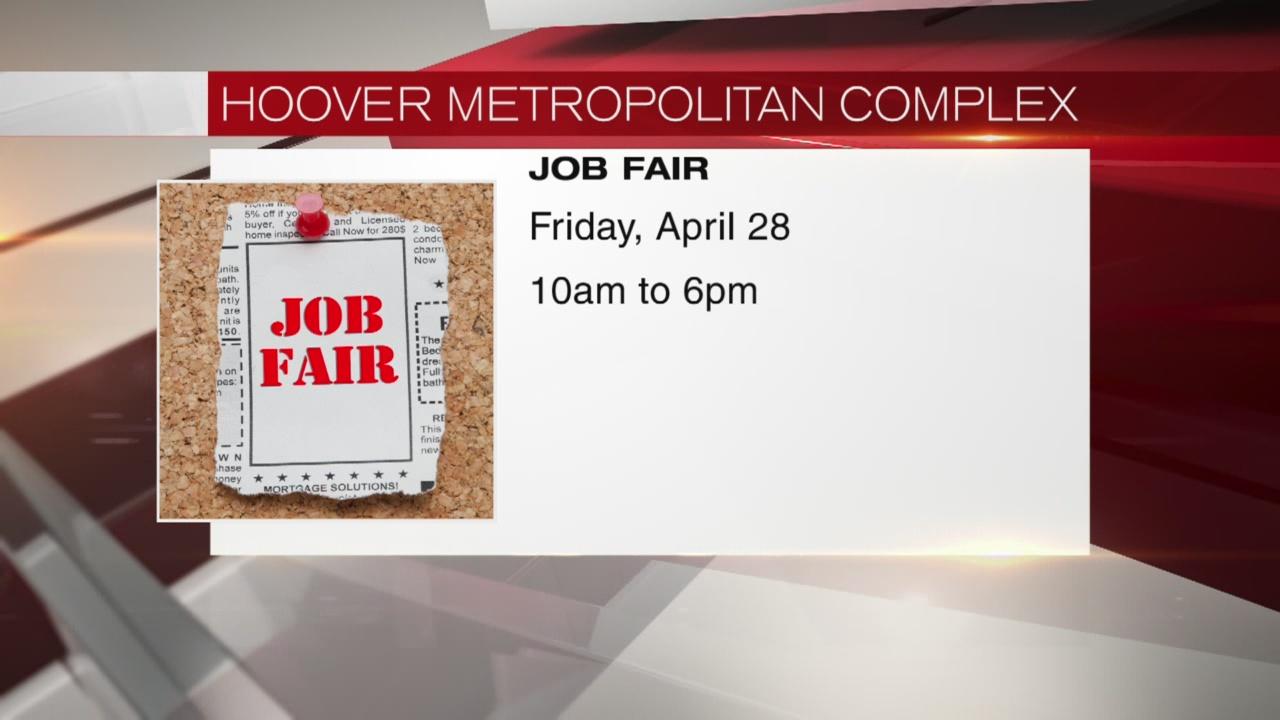 Hoover Met job fair