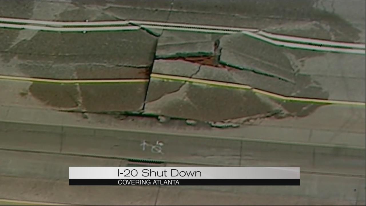 I-20 Shut Down