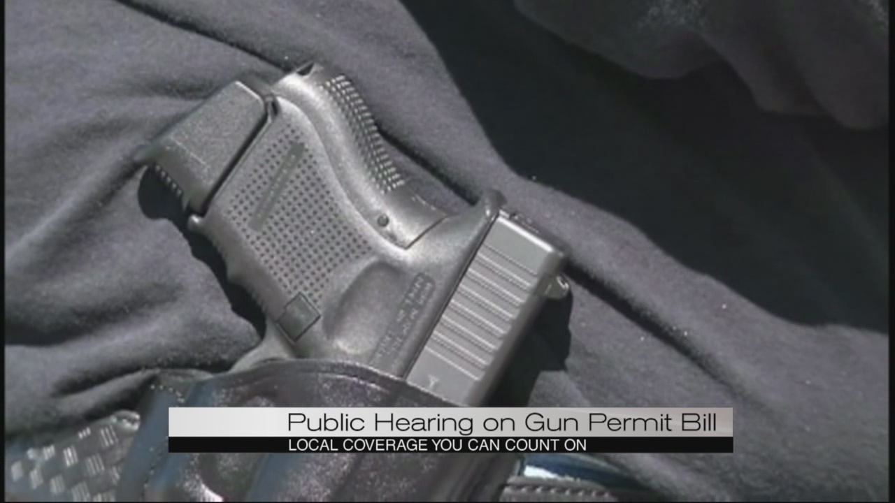 Concealed carry bill