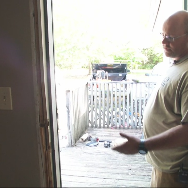 Search for suspects in home invasion in Adger