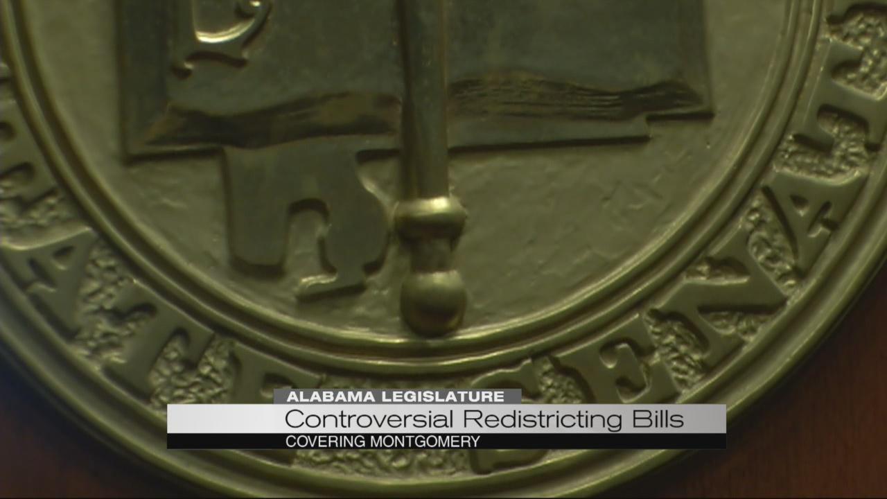 Controversial redistricting bills