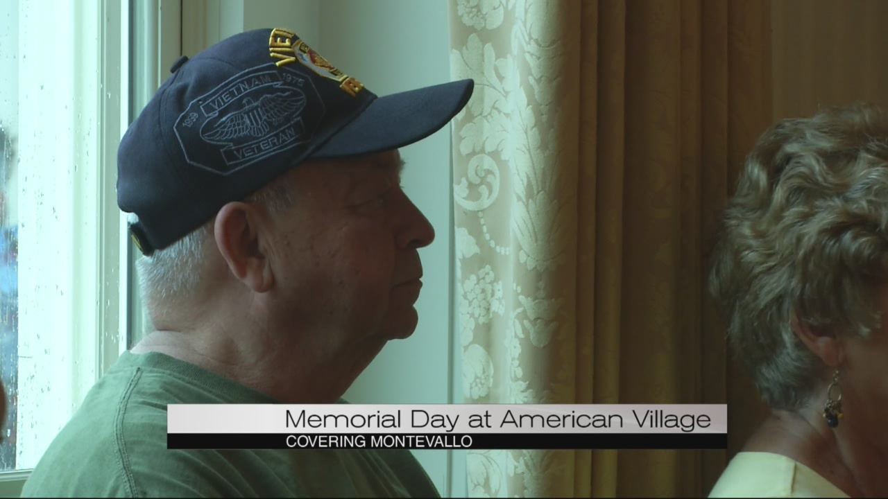The American Village hosts Memorial Day tribute