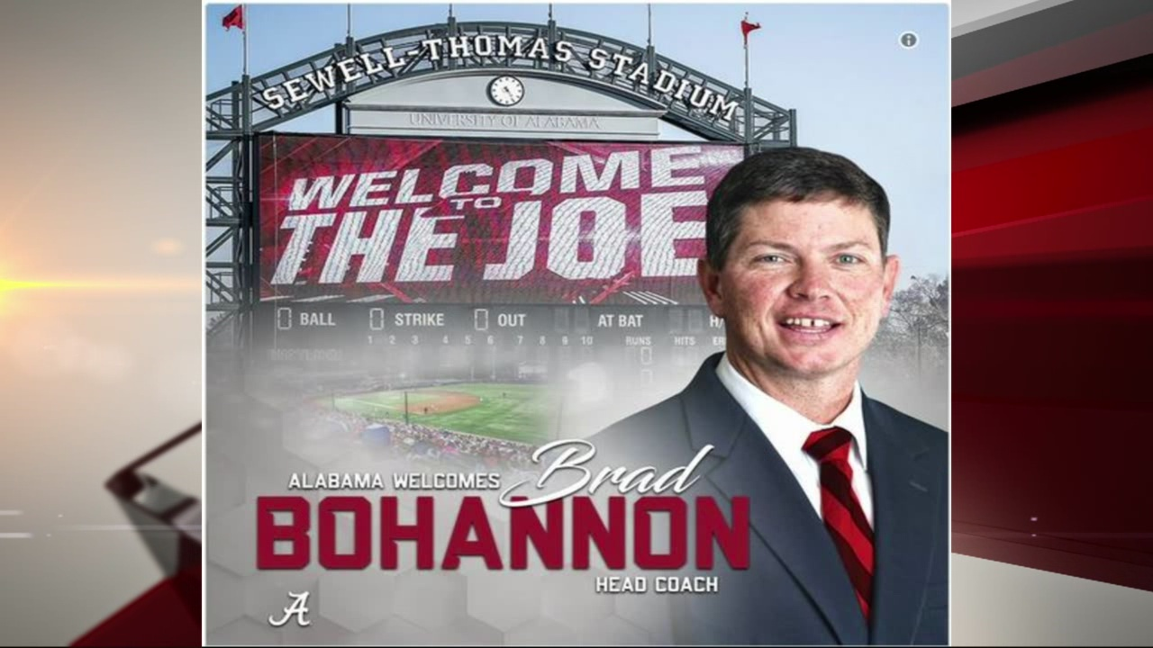 New head coach for Alabama baseball