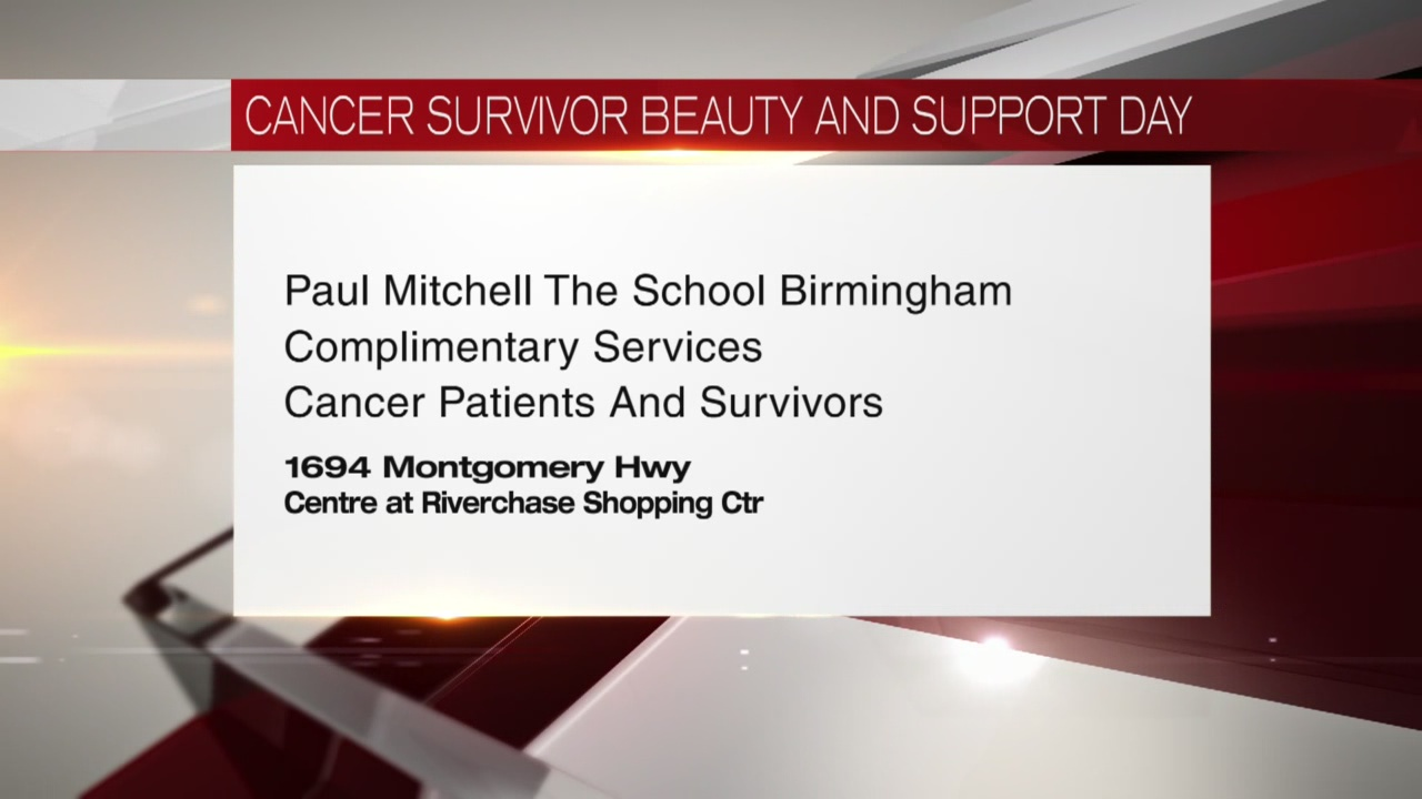 Cancer survivor beauty support day