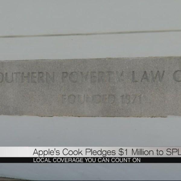 Apple's Cook pledges $1 million to SPLC