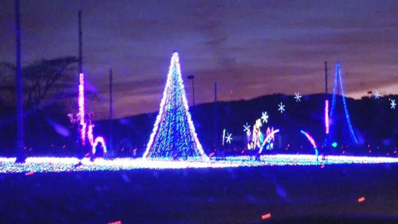 Lights, equipment stolen from Christmas