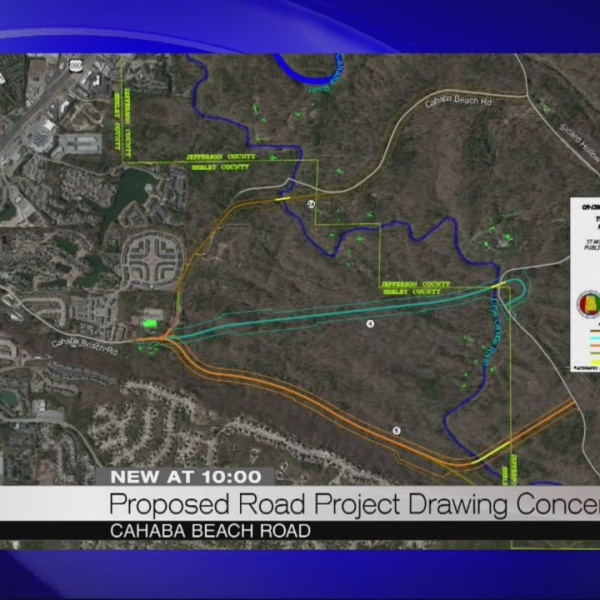 Proposed road project drawing concern