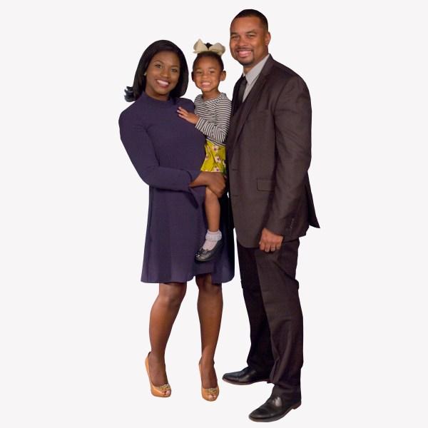 Shepherd family - on white_316427