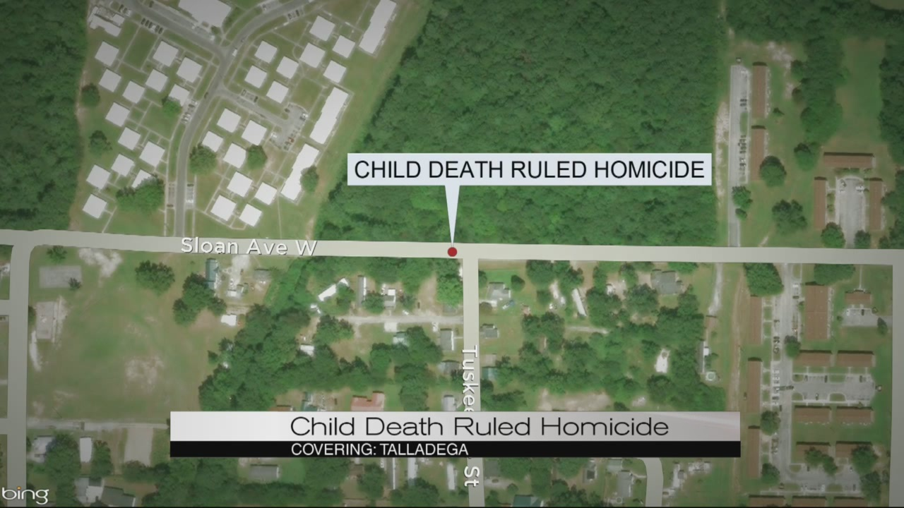 Child death ruled homicide
