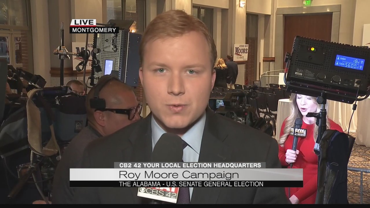5 PM live update from Roy Moore HQ
