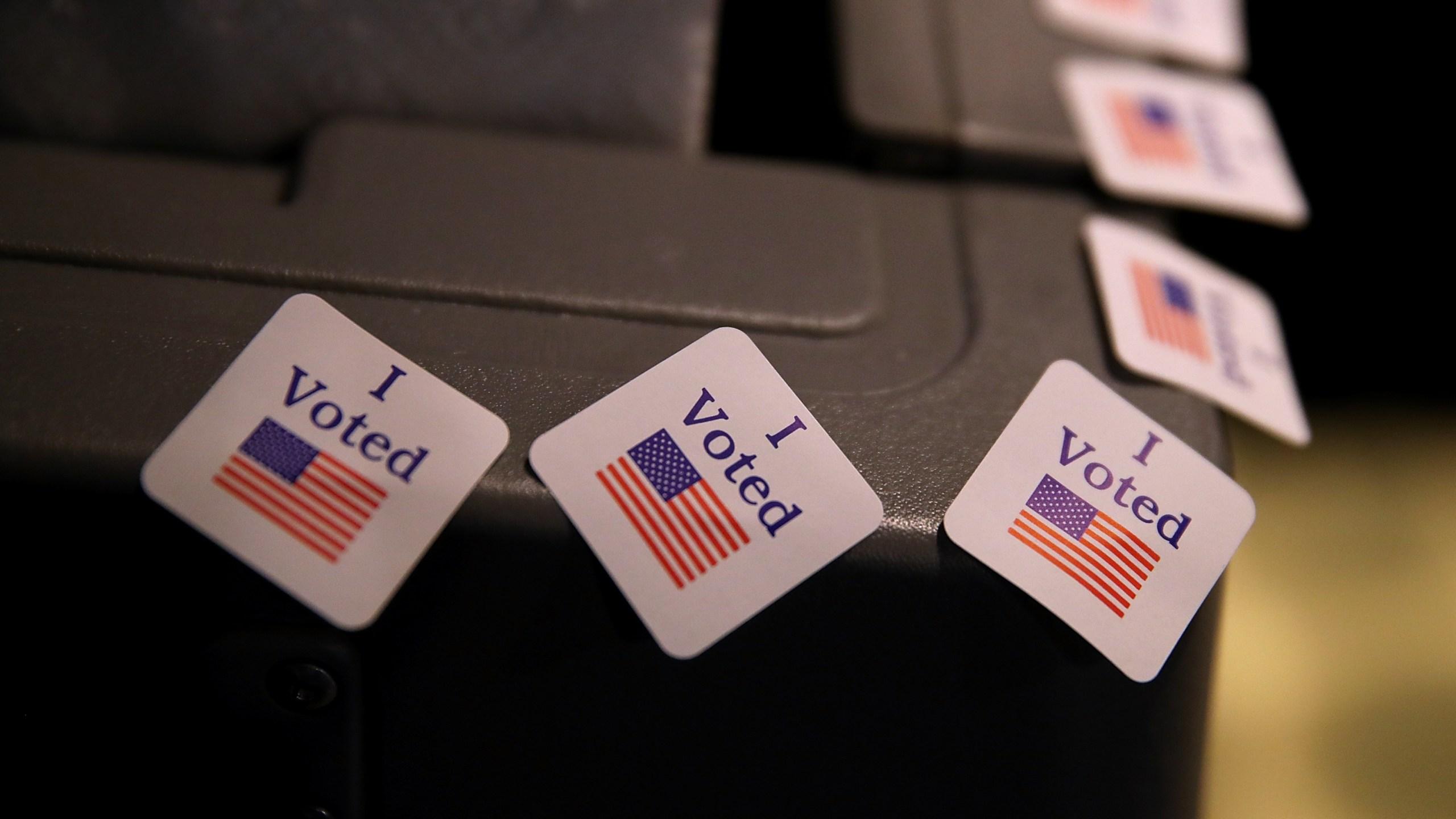 Democratic Senate Candidate Doug Jones Votes In Alabama Special Election_348649