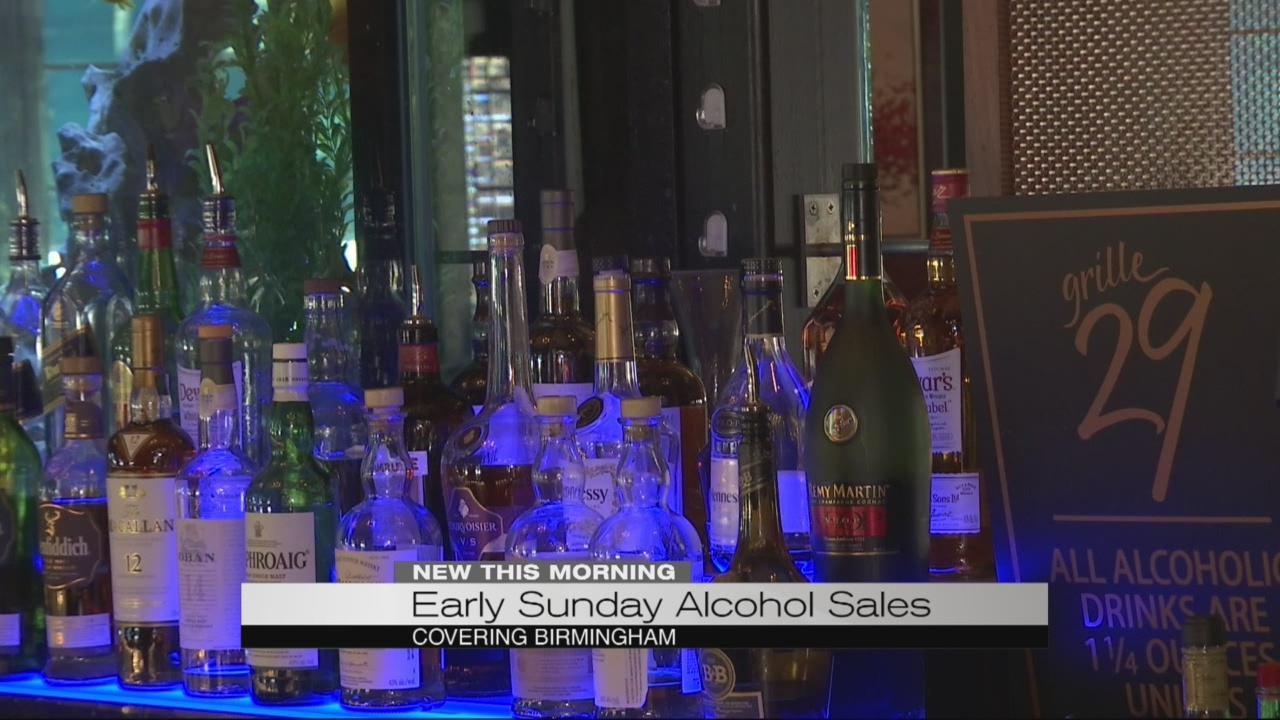 Birmingham city councilor pushes for early Sunday alcohol sales