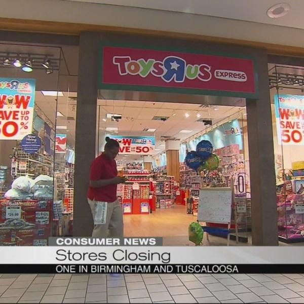 Toys R Us closings