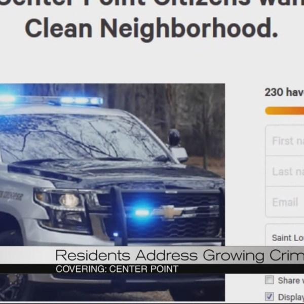 Center Point crime concerns
