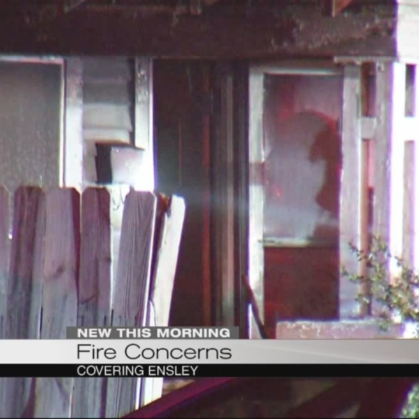 Fire concerns