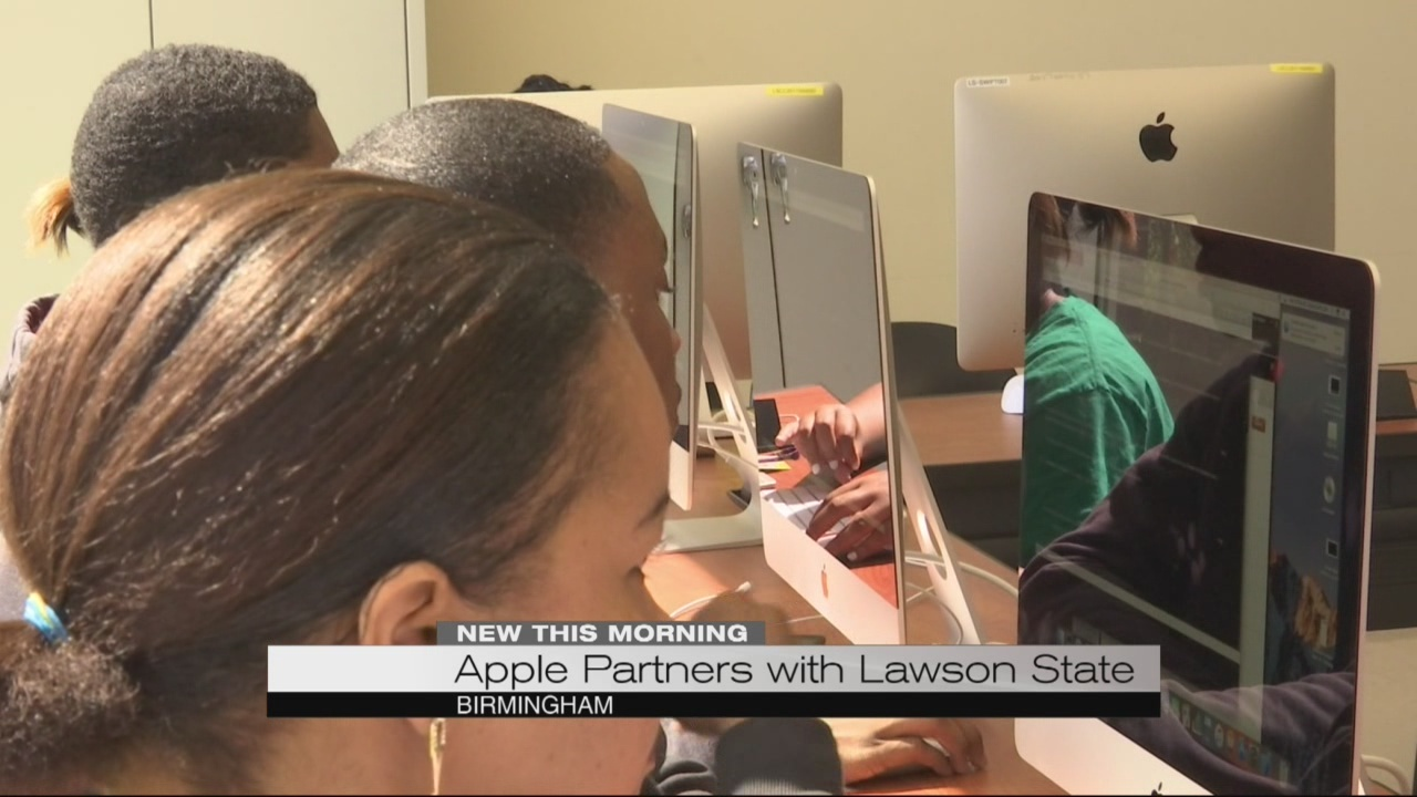 Apple partners with Lawson State for new app developer program