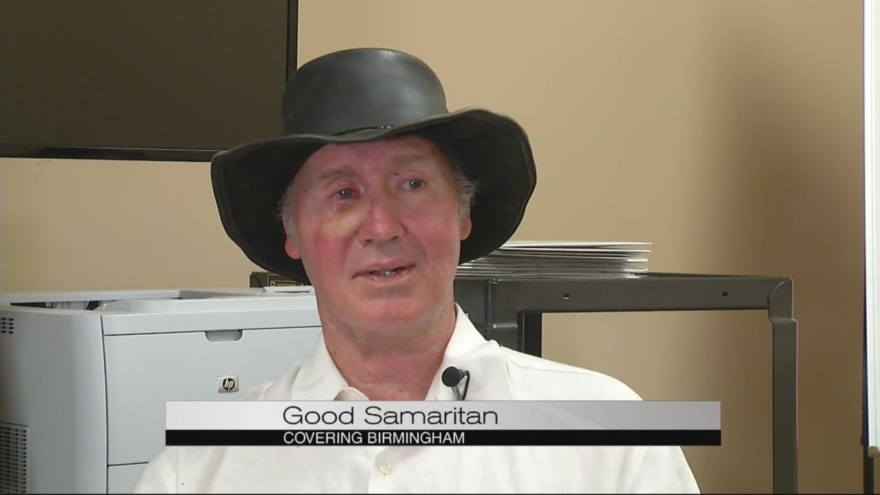 Good Samaritan Helps Stop Bank Robbery