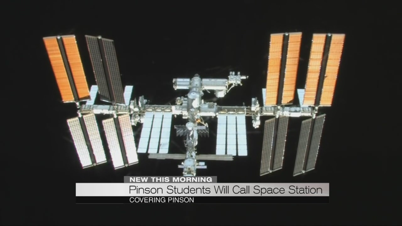 Pinson Students Will Call International Space Station