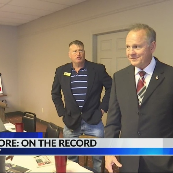 Roy Moore on the record