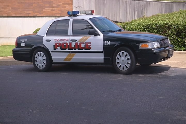 Tuscaloosa Police car_129650