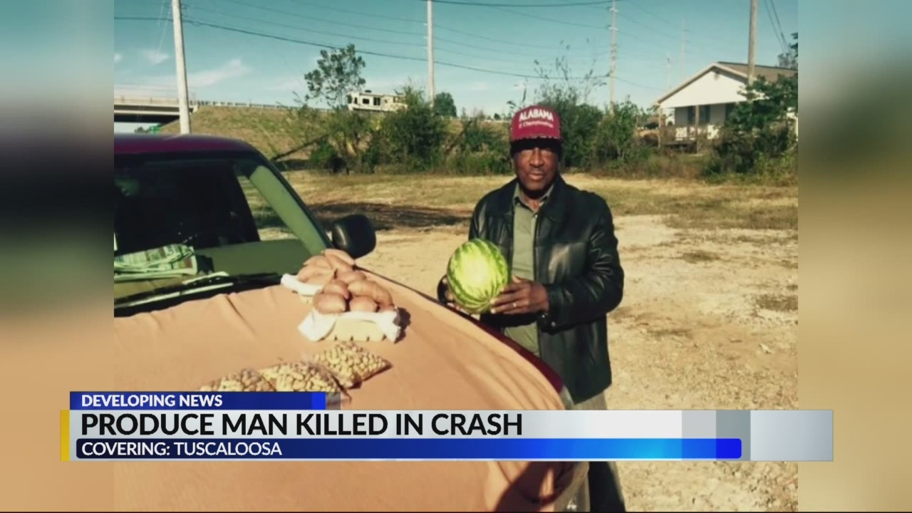 Tuscaloosa produce man killed in crash is being remembered