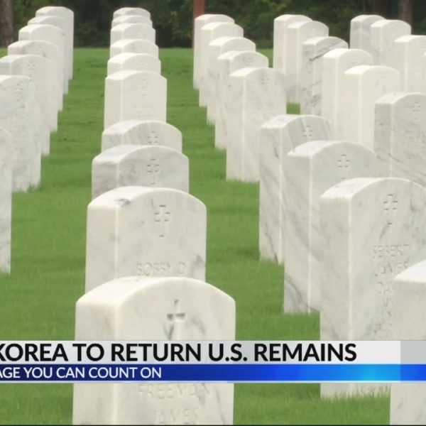 North Korea & Military Remains