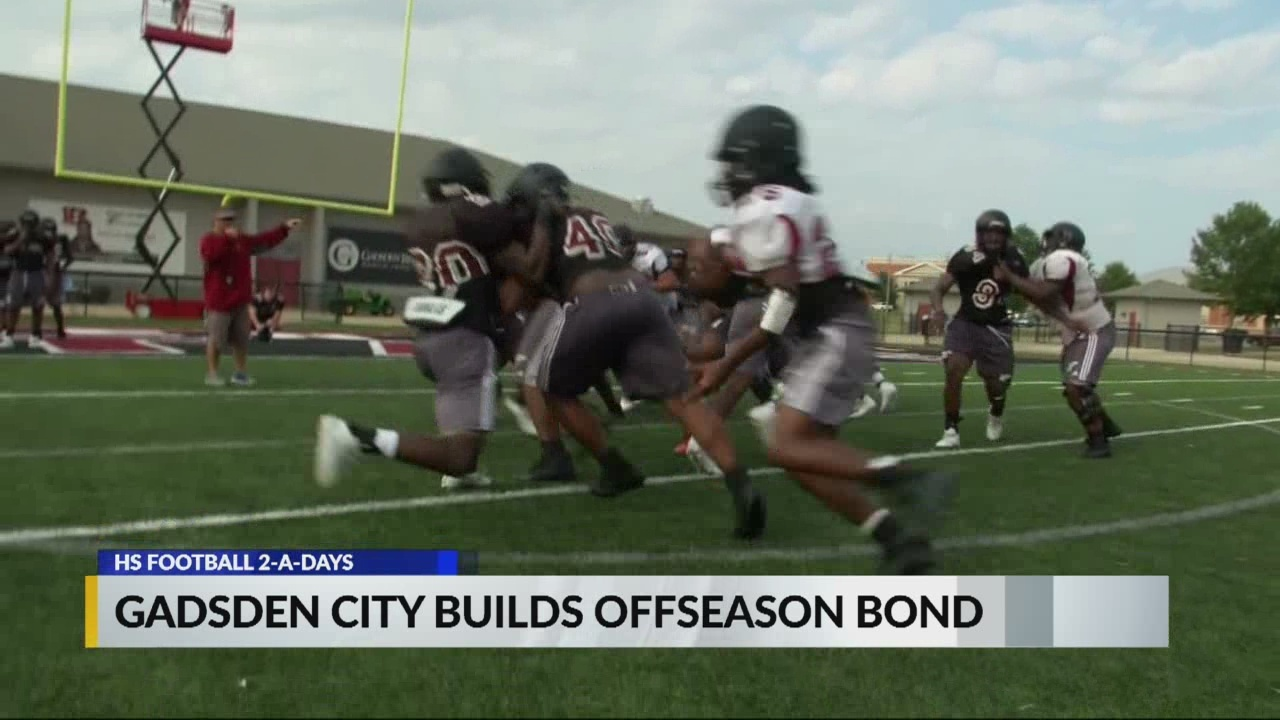 CBS 42 High School Football Two-A-Days: Gadsden City Titans