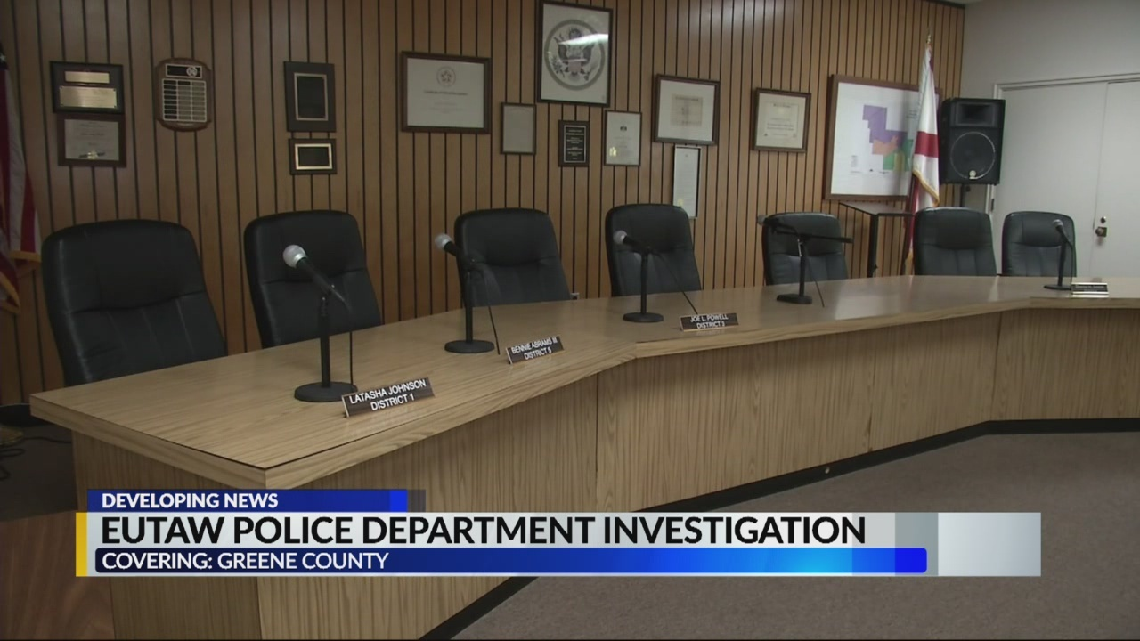 Eutaw Police Officers Spar With City Council