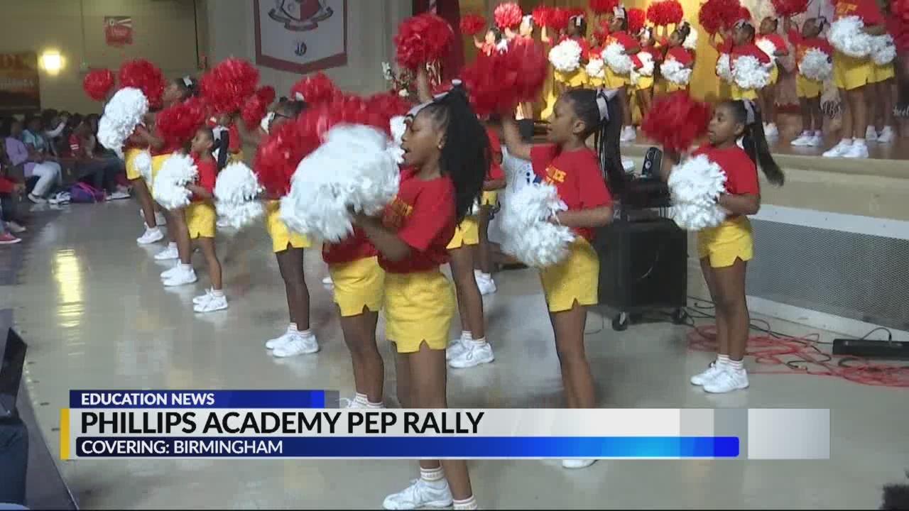 Phillips Academy pep rally