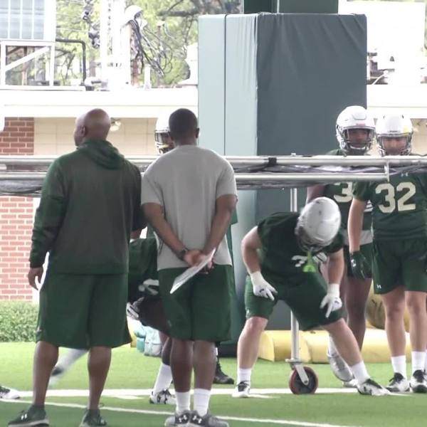 UAB First Fall Practice