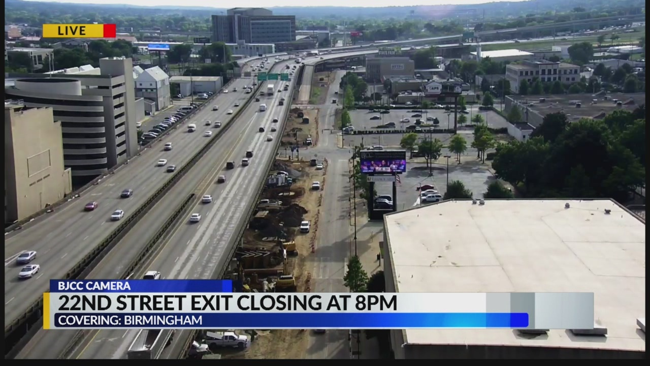 22nd street exit closing