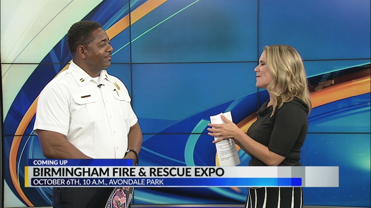 Birmingham fire and rescue expo