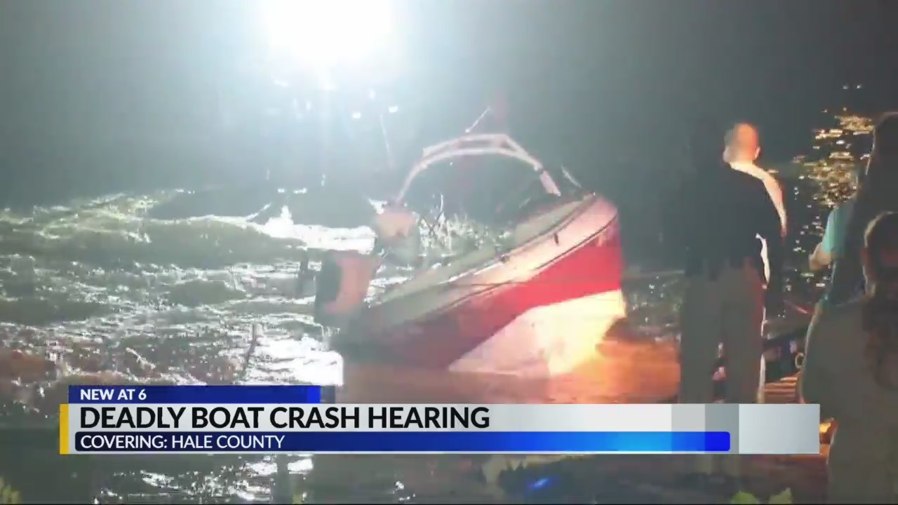 Deadly boating accident hearing