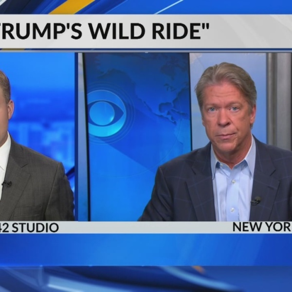 Jack Royer speaks with CBS News Chief White House Correspondent Major Garrett about book release