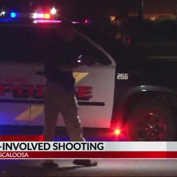 Officer-involved shooting Tuscaloosa