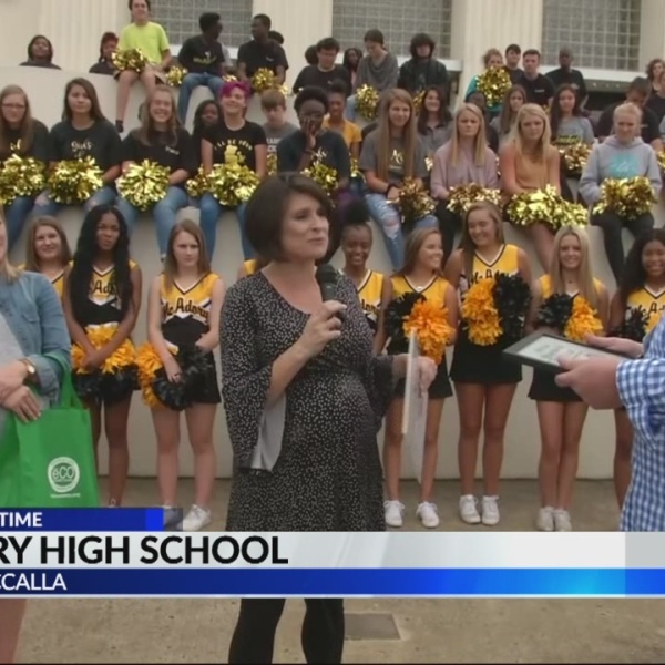 One class at a time: McAdory high school