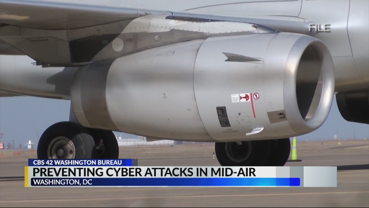 Preventing cyber attacks in mid-air