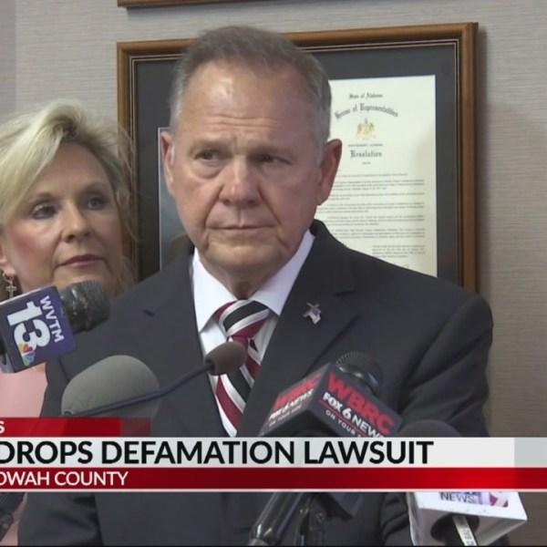 Roy Moore drops defamation lawsuit