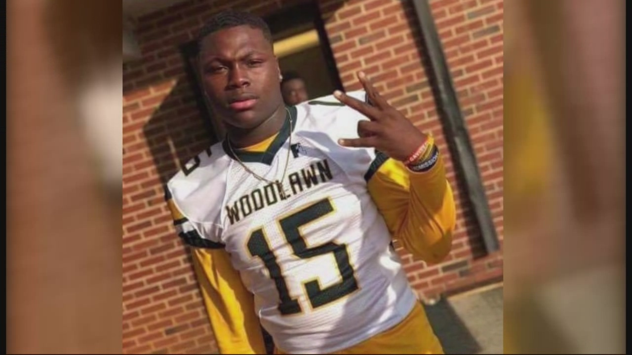 Woodlawn high school football player shot and killed