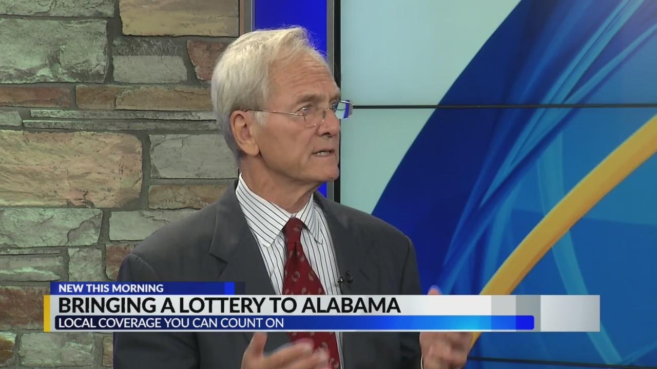 Art talks lottery with Don Siegelman