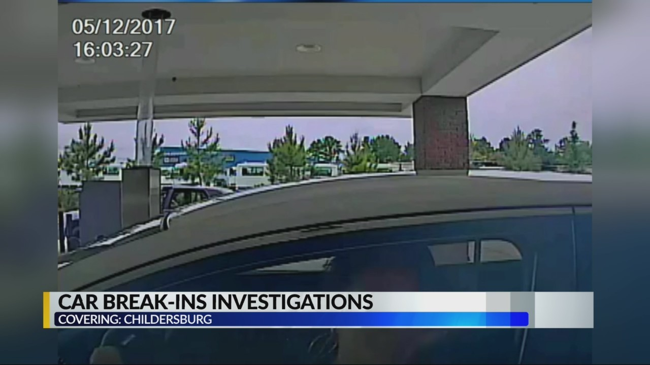 Childersburg Car Break ins