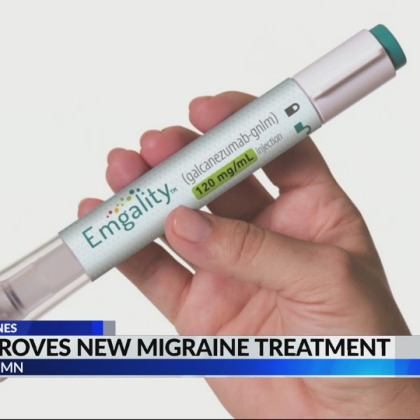 FDA approves new migraine treatment