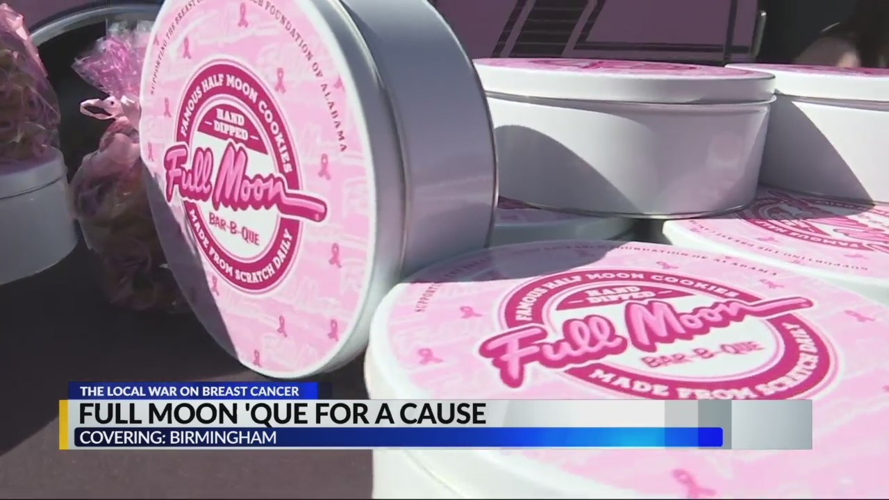 Full Moon 'Que for a cause