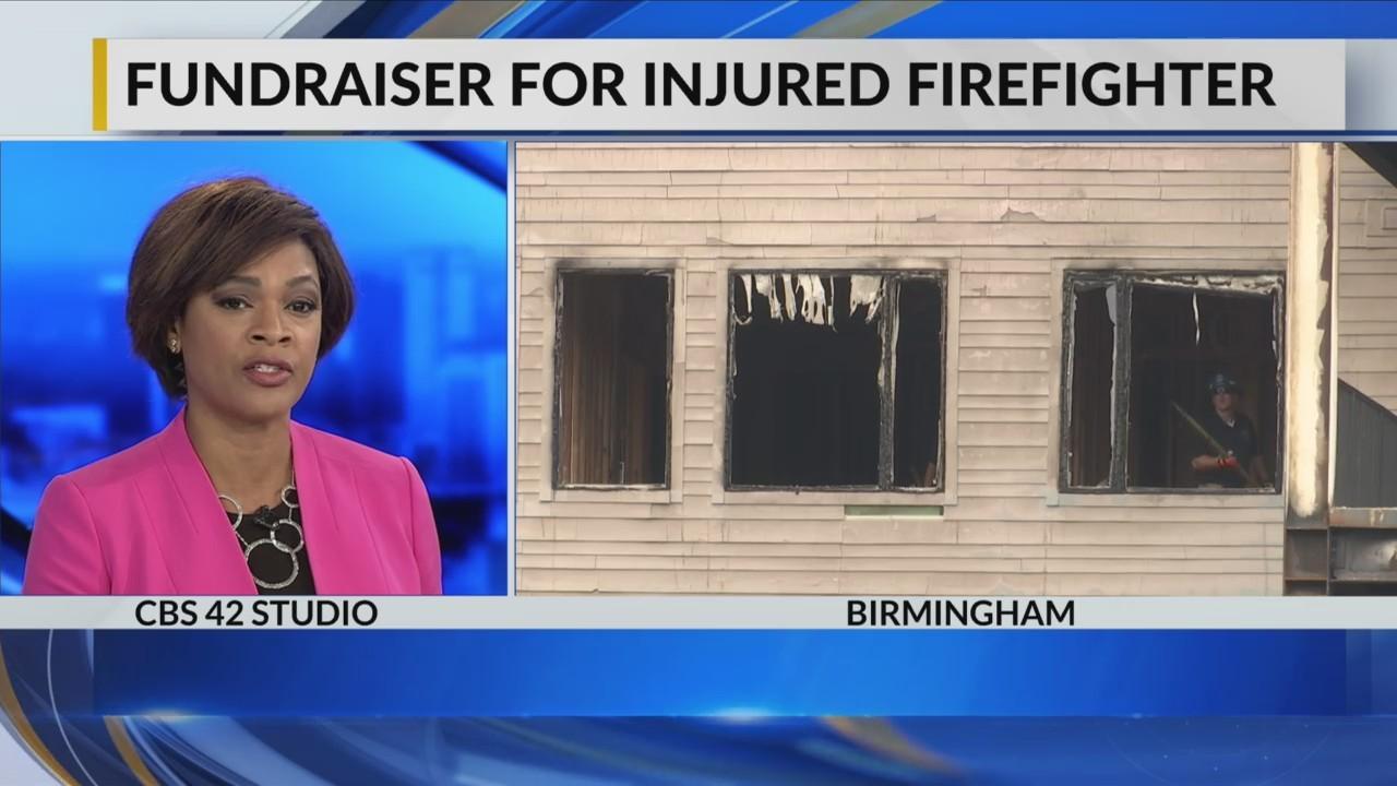 Fundraiser for injured firefighter